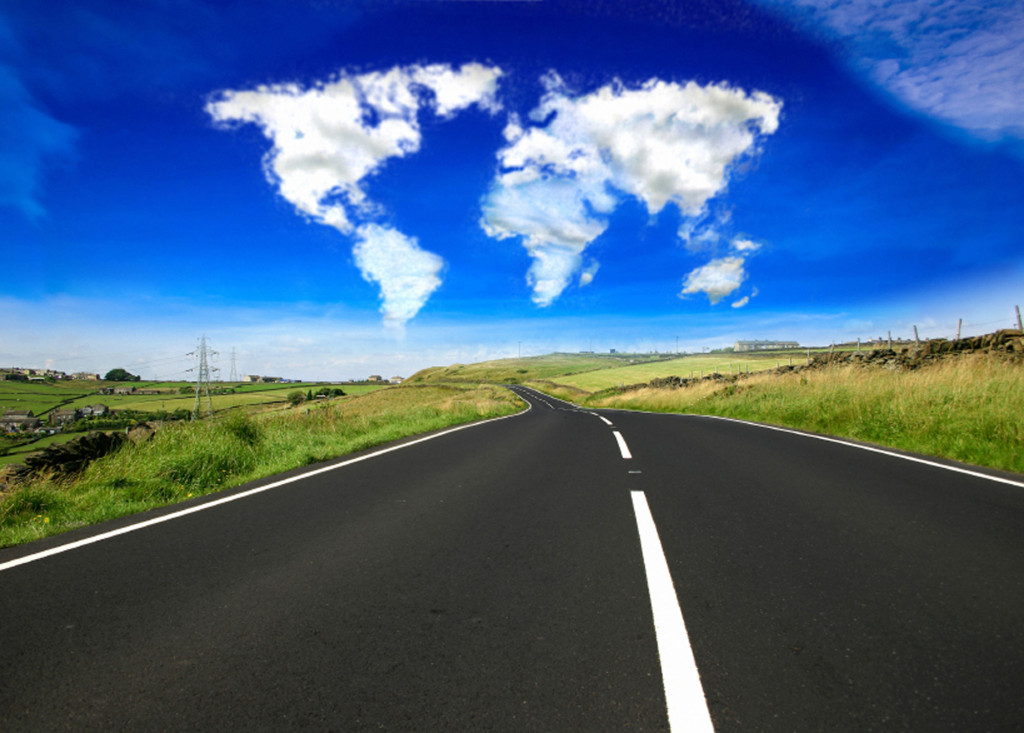Photo of the open road